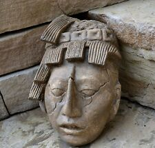 Aztec Maya K'inich Janaab' Pakal king Sculpture bust home wall decor