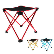 Lightweight Portable Folding Camping Stool Backpacking Chair with Carry Bag