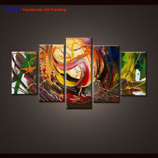 Framed Large Wall Art Handmade Canvas Abstract Oil Painting Modern Home Decor 47