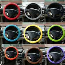 Fashional Decoration New Soft Silicone Steering Wheel Cover Shell Skidproof UN