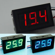 DC 30V 3 Wire LED Digital Display Panel Volt Meter Voltmeter Car Motor PICK