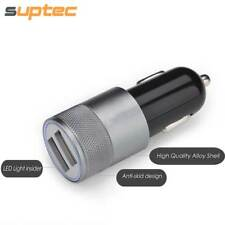 SUPTEC Car Phone Charger 2 Port Mini Dual USB Car Charger Adapter Quick