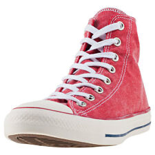 Converse Chuck Taylor All Star Hi Unisex Red Canvas Casual Trainers Lace-up