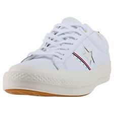 Converse One Star Ox Unisex Trainers White New Shoes