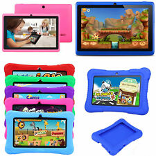 """7"""" Kids Tablet PC Google Android Quad Core WIFI HD Dual Camera Bundle Case Gift"""