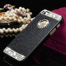 Luxury Bling Slim Glitter Hard PC Back Case Cover Skin For iPhone Samsung Galaxy