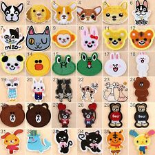 Embroidered  Iron On Patches Animals Transfer Fabric Bag Clothes Applique Trim