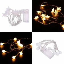 1.5M LED Light String Fairy Lights Five-Pointed Star/Ball Garden Decoration