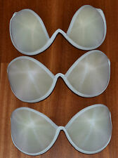 """Seamless Strapless Backless Bra Natural  cups""""Vintage"""" Underwire Bra Cups. B-C-D"""