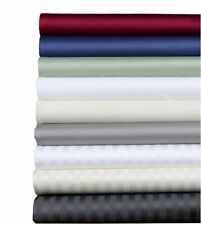 """HOME 1000 TC SOFT EGYPTIAN COTTON 1PC QUILT/DUVET COVER """"STRIPED ALL UK-BED SIZE"""