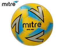 *BRAND NEW* MITRE 2018 - IMPEL MAX FOOTBALL - YELLOW/SILVER/BLUE SIZE 3,4,5