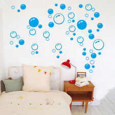 wall art bathroom shower tile removable decor decal mural kid sticker bubble、New