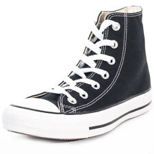 Converse Chuck Taylor All Star Unisex Black Canvas Casual Trainers Lace-up