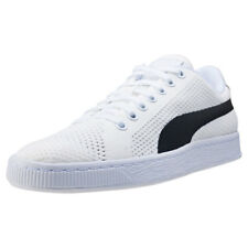 Puma Basket Classic Evoknit Mens Trainers Off White New Shoes