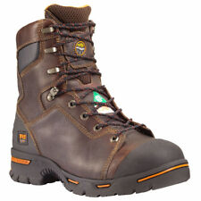 """New TIMBERLAND PRO Mens 8"""" Endurance PR Steel Toe Leather Work Boots 52561214"""