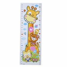Kids Height Chart Wall Sticker DIY PVC Decals Home Nursery Room Growth Decor