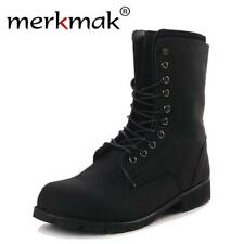 New 2017 men's fashion ankle boots heels autumn winter brand shoes Matin boots c