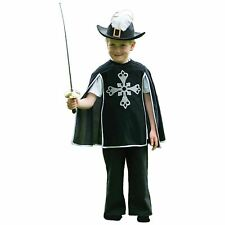 Kids Boys Historical Three Musketeers Fancy Dress Medieval Book Week Costume