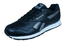 Reebok Classic Royal Glide Womens Leather Retro Trainers Shoes Black - See Sizes