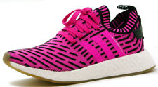 adidas NMD_R2 Primeknit Men's Shoes BY9697 'Shock Pink/Core Black' sz 6.5-13