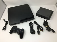 Playstation 3 PS3 Slim Console Bundle w/ Games+ Dualshock 3 Controller