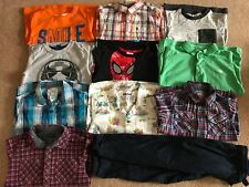 Boys Clothes Bundle 3-4 Years T.Shirt, Shirt, Jog - M&S, Next, Primark 11 items