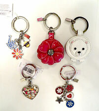 Coach Key Ring Chain Fob Your Choice of Various Styles - NWT - NWOT