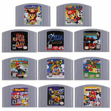 Super Mario 64 & Party1 2 3 Game Card Cartridges For Nintendo 64 N64 English