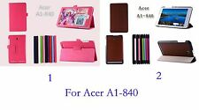 PU Leather Stand Case Cover Protector FOR ACER ICONIA TAB 8 A1-840 FHD A1-840FHD