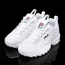New FILA Womens Disruptor II 2 FS1HTZ3071X WWT Top WHITE UNISEX SIZE Shoes