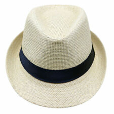 Children Summer Style Sun Hat Beach Jazz Panama Gangster Unisex Trilby Fedora 54