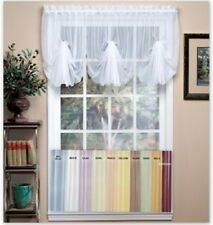 Emelia Sheer FAN Valance - Available in 11 colors {Brand NEW}