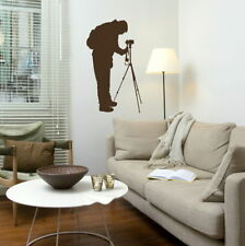 Photography Wall Stickers! Photographer Transfer / Removable Vinyl Decals RA246