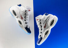 REEBOK IVERSON QUESTION MID 2016 RETRO PEARLIZED BLUE US 10.5 ANSWER CROSSOVER
