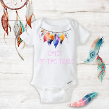 Chef of the Tribe Unisex Baby Clothes newborn Baby Infant Onesies Gift Girls