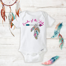 Leader of the Tribe Unisex Baby Clothes newborn Baby Infant Onesies Gift Girls