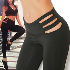 Sport Womens Yoga Fitness Leggings Fashion Running Gym Pants Workout Trousers