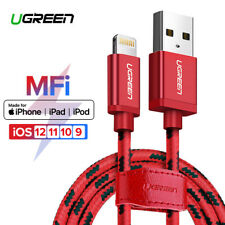 Ugreen Lightning to USB Cable MFi Certified Fast Charging for iPhone X 8 6 5S