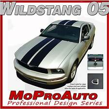 STANG Ford Mustang - 3M Pro Vinyl Racing Stripes Hood Roof Decals 2005 118