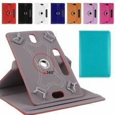 360°Rotating PU Leather Folio Case Cover Stand For 7 8 9 10  Inch Tablet PC KU