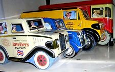 COLLECT UK TINS - COMMERCIAL VEHICLES & others - click SELECT to browse or order