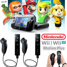 2 Pack Built-in Motion Plus Wiimote Remote Controller for Nintendo Wii & Wii U