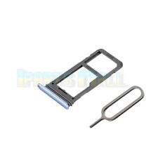 SIM Micro SD Card Tray Slot Holder For Samsung Galaxy S8 G950F Replacement Blue