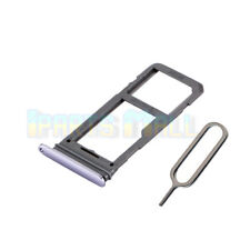 SIM Micro SD Card Tray Slot Holder For Samsung Galaxy S8 G950F Replace Purple