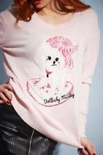 Very Rare Wheels and Dollbaby Minky Pink Oversized Sweater Brand New