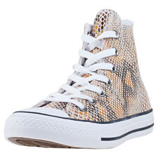 Converse Chuck Taylor All Star Hi Womens Natural Leather Trainers