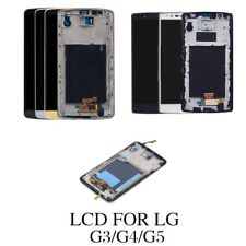 FOR LG G5 G2 G3 G4 Black LCD Complete Touch Display Screen Frame Replacement