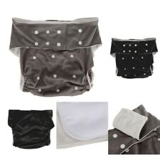 Adult Incontinence Underwear Nappy Diaper Cloth Disability Pants +Insert Pad