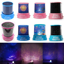 New Star light LED Starry Night Sky Projector Lamp Cosmos Master Kids Boys Gift