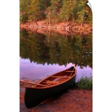 Wall Decal entitled Canoe, Algonquin Park, Ontario, Canada
